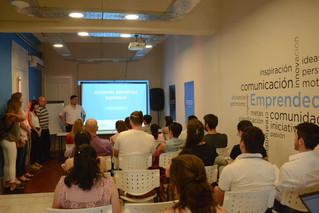 Charla realizada en evento de emprendedores en Corrientes