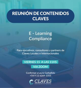 Reunión de Partners de Claves mayo 2020 (I)
