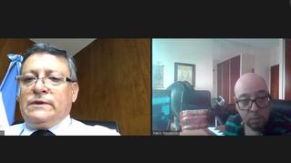 Reunión con Embajador en Paraguay