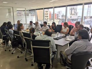 Reunión de trabajo Entidades Privadas y Públicas de Comercio Exterior