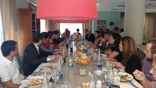 Organización del evento de la presentación de la Ley PYME.
