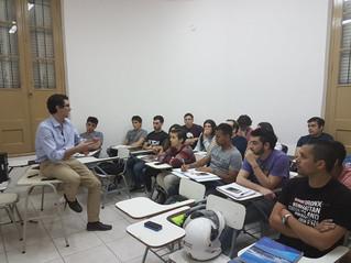 El Secretario de PYMES y emprendedores de la Nación nos visitó en nuestra clase!