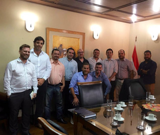 Reunión con el Viceministro de MiPyMEs de Paraguay