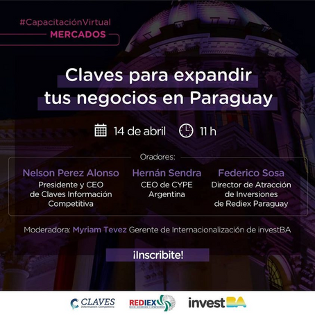 Rediex, InvestBA y Claves