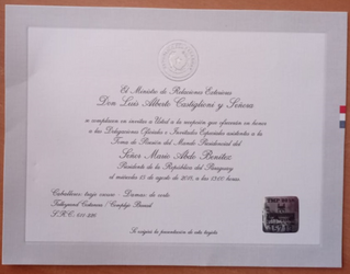 Asunción del presidente de Paraguay