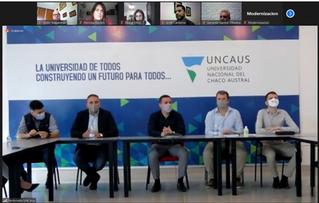 Presentación incubadora UNCAus