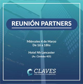 Reunión de Partners de Claves de marzo 2020