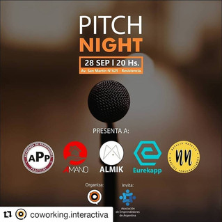 Organizamos Pitch Night Interactiva - ASEA