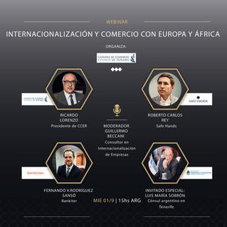 Internacionalización Europa y Africa