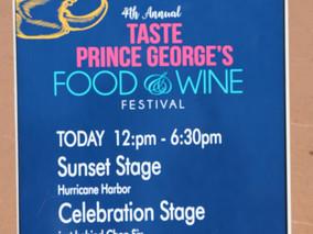 Taste of Prince George's-Food & Wine Festival
