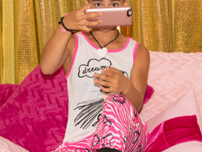 Pajama Glam Raises Breast Cancer Awareness