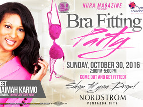 Nura Bra Fit Event