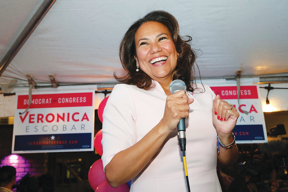 Veronica Escobar, Texas (Photo Credit: El Paso Times, R. Ramirez)