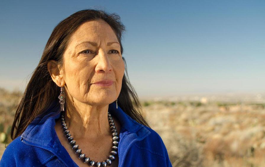 Debra Haaland, New Mexico (Photo Credit: The Nation, Michael Anaya-Gorman)