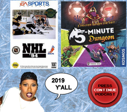e89 – NHL 94 and 5 Minute Dungeon