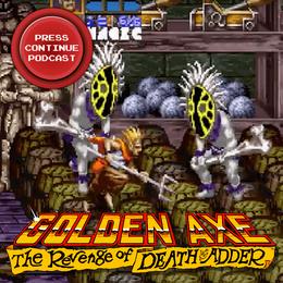 Golden Axe Revenge of Death Adder (Arcade) - Press Continue Podcast E101