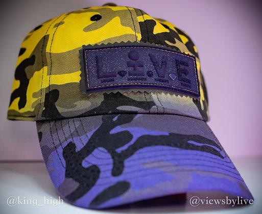 """lakeshow"" dad hat"