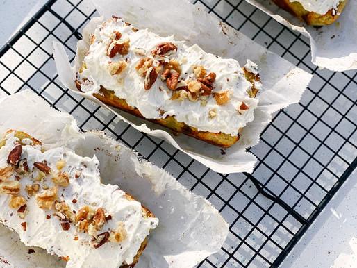 Banana Bread meets Carrot Cake 🍌🥕