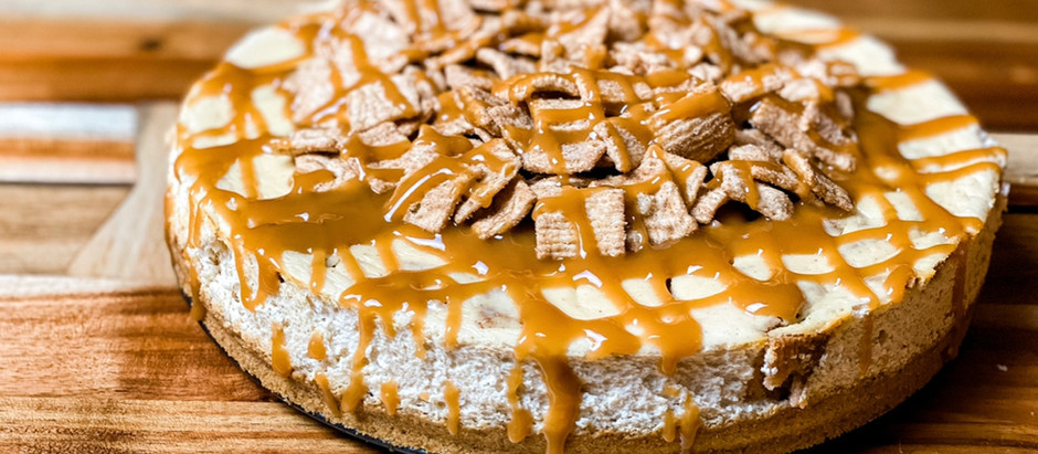 Cinnamon Toast Crunch Protein Cheesecake