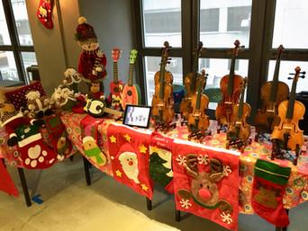 Party Fairish X D2 Place 小提琴作攤位及示範2016