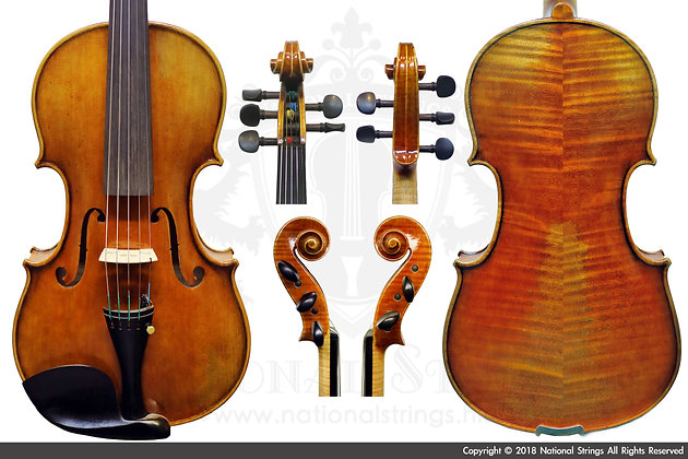 全手製歐料五弦中提琴 Full handmade Maestro 5 Strings Viola (Timber from the Europe)