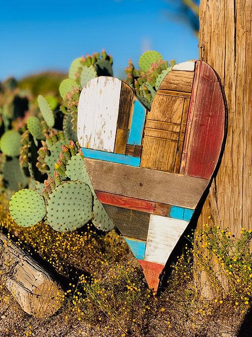 Wood Heart - Meet Me In St Louis (sold)
