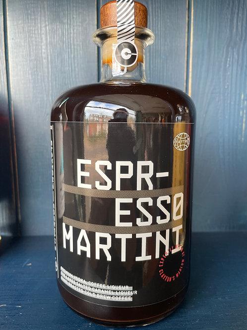 Clayton's Cocktails Espresso Martini