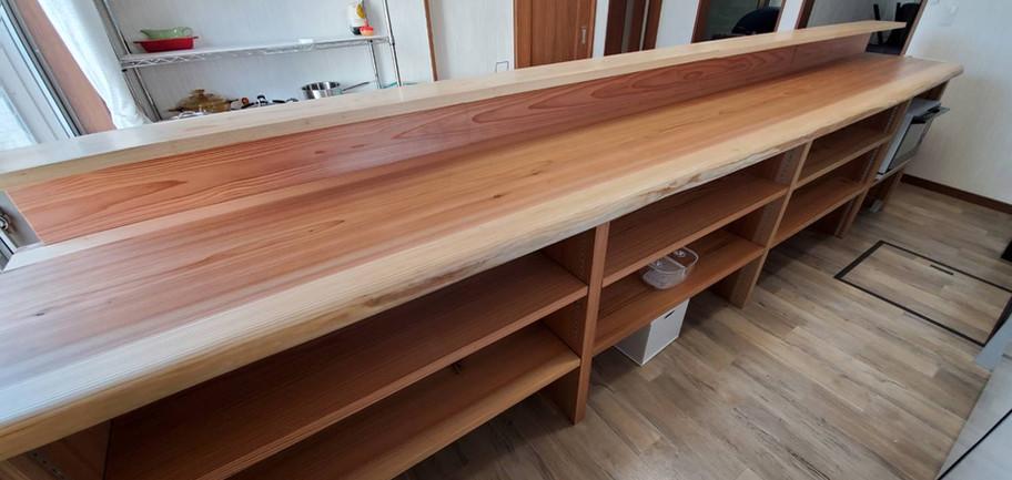キッチンの木質化