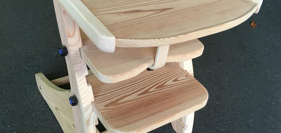 木製キッズチェア