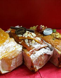 Cakes Fruits confits, Chocolat-Orange, C