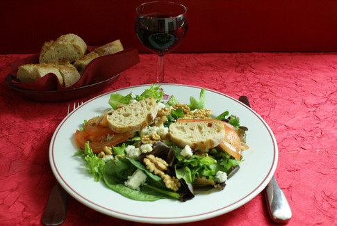 Salade Noix-Roquefort