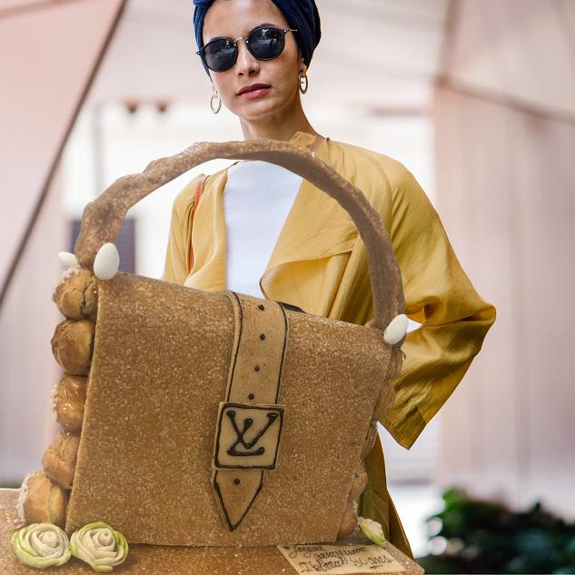 Sac à main nougatine Louis Vuitton