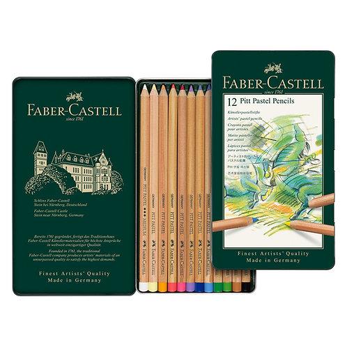 Lápices pastel x 12