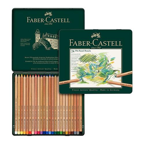 Lápices pastel x 24