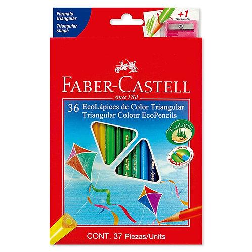 Colores Triangulares x 36 Ecólogicos