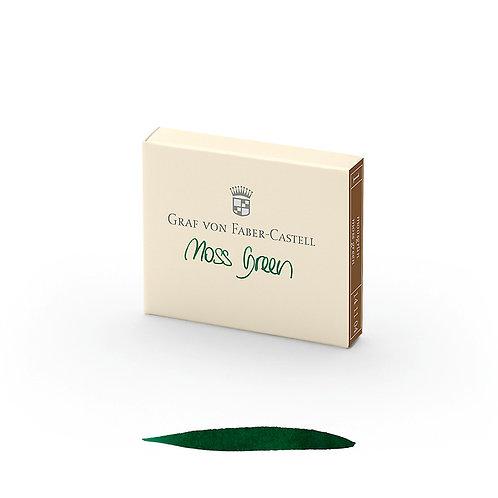 Cartuchos de Tinta Verde Musgo x 6