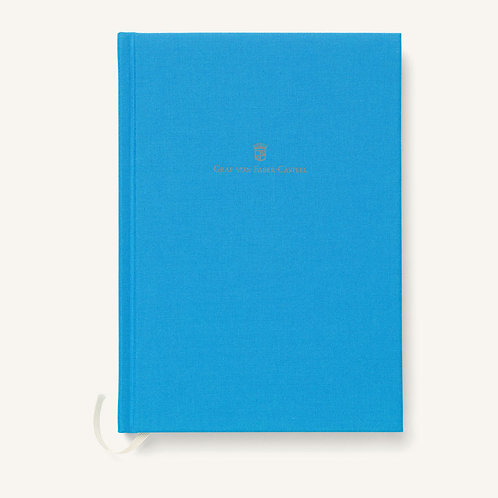 Libreta Lino A5 Gulf Blue