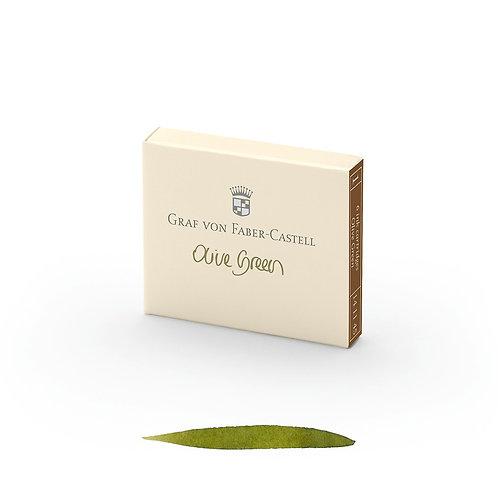 Cartuchos de Tinta Verde Oliva x 6