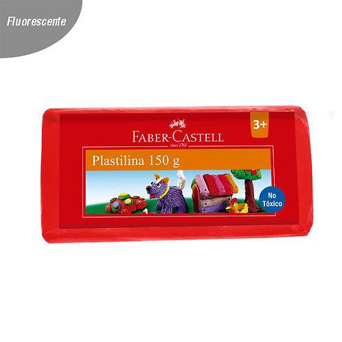 Plastilina Roja fluorescente 150 g