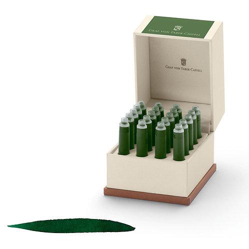 Cartuchos de Tinta Verde Musgo x 20