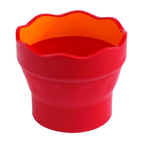 Vaso Clic&Go Rojo