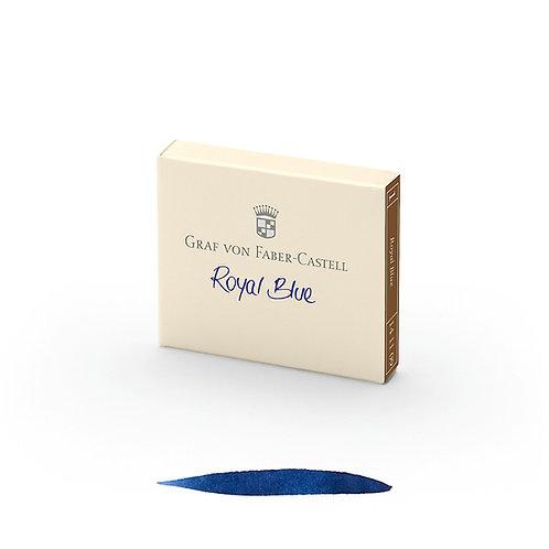 Cartuchos de Tinta Azul Real x 6