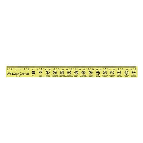 Regla Plana Súper 30 cm