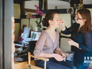 Spring Bridal Makeup In Winchester