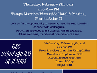 Join Us at CEC 2018 for the DEC Reception