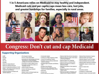 DEC Joins More than 112 Organizations Urging U.S. Senate Not to Cut and Cap Medicaid