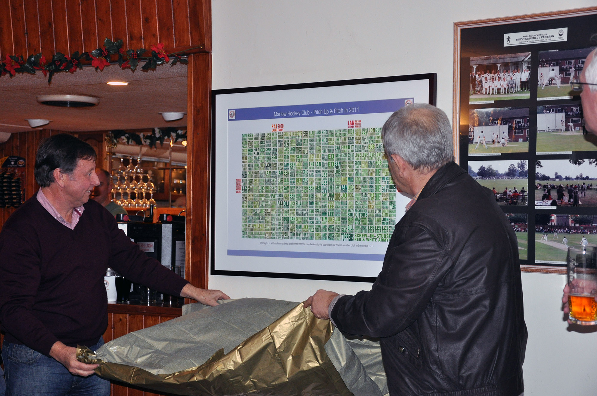Marlow Hockey Club Poster Unveiling
