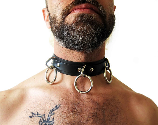 3 Ring Locking Slave Collar