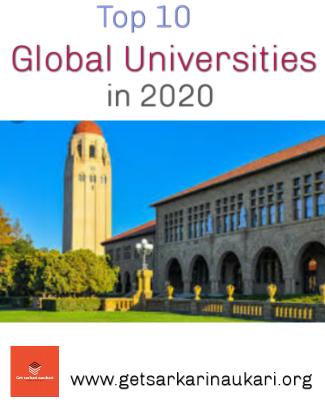 Top 10 university in world