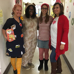 Teachers getting in on the fun!